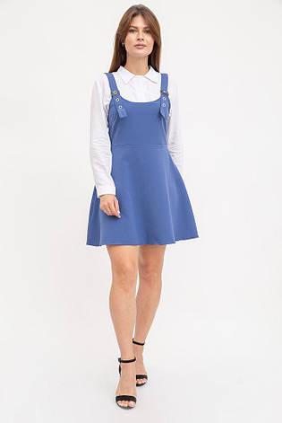 Сарафан женский 119R315 цвет Синий, фото 2