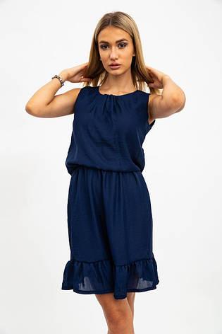 Платье женское 119R290 цвет Темно-синий, фото 2