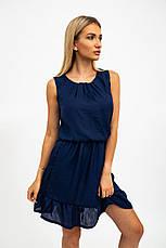 Платье женское 119R290 цвет Темно-синий, фото 3