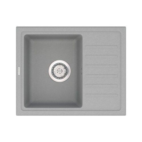Кухонная мойка Vankor LIRA LMP 02.55 Gray + сифон Vankor
