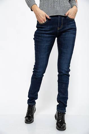 Джинсы женские 129R106 цвет Темно-синий, фото 2