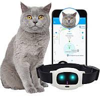 GPS ошейник для кошек MYOX MPT-47CW (белый)