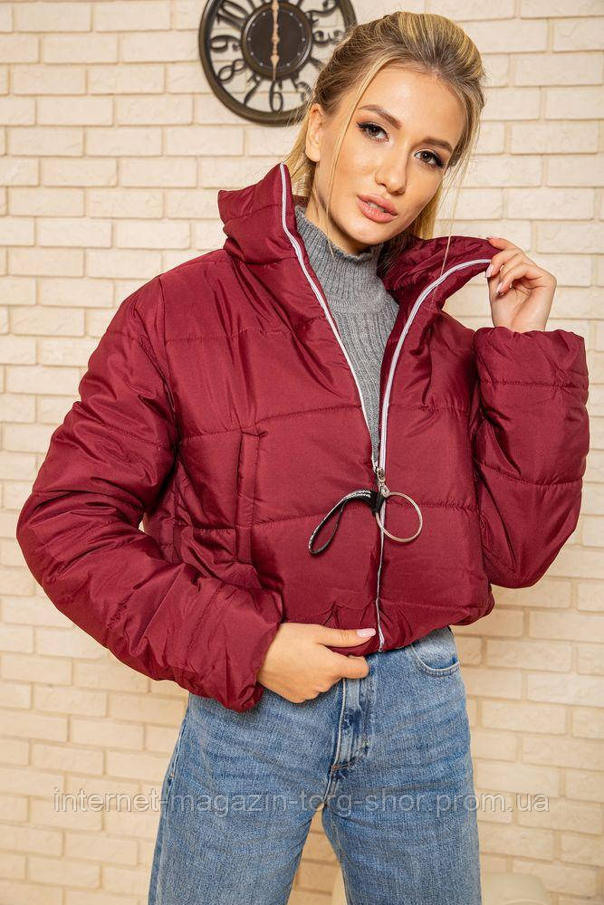 Куртка женская 129R100 цвет Бордовый