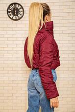 Куртка женская 129R100 цвет Бордовый, фото 2