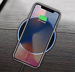 Беспроводное зарядное устройство Wi-smart Fast 2 Qi для телефона, наушников Iphone, Android с LED подсветкой, фото 2