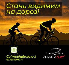 Велорукавички PowerPlay 5031 B Червоні L, фото 2