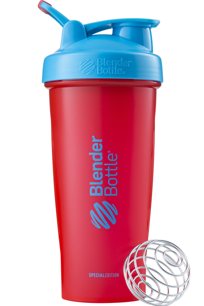 Спортивний шейкер BlenderBottle Classic Loop 820ml Special Edition Sonic Red/Blue (ORIGINAL)