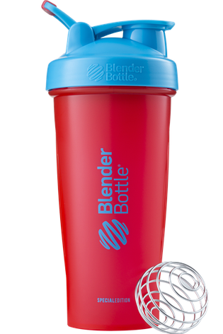 Спортивний шейкер BlenderBottle Classic Loop 820ml Special Edition Sonic Red/Blue (ORIGINAL), фото 2