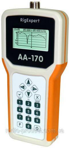 RigExpert AA-170 - Анализатор антенн (0.1 ... 170 МГц)