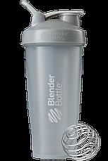 Спортивный шейкер BlenderBottle Classic Loop 820ml Grey (ORIGINAL), фото 2