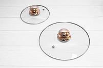 Набор кастрюль со сковородой с крышками и фритюром Goldteller GT-1330 на 13 предметов, 9-ти ступенчатое дно, фото 9