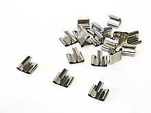 Металлический держатель для фитиля /фитиледержатель/ для деревянных фитилей
