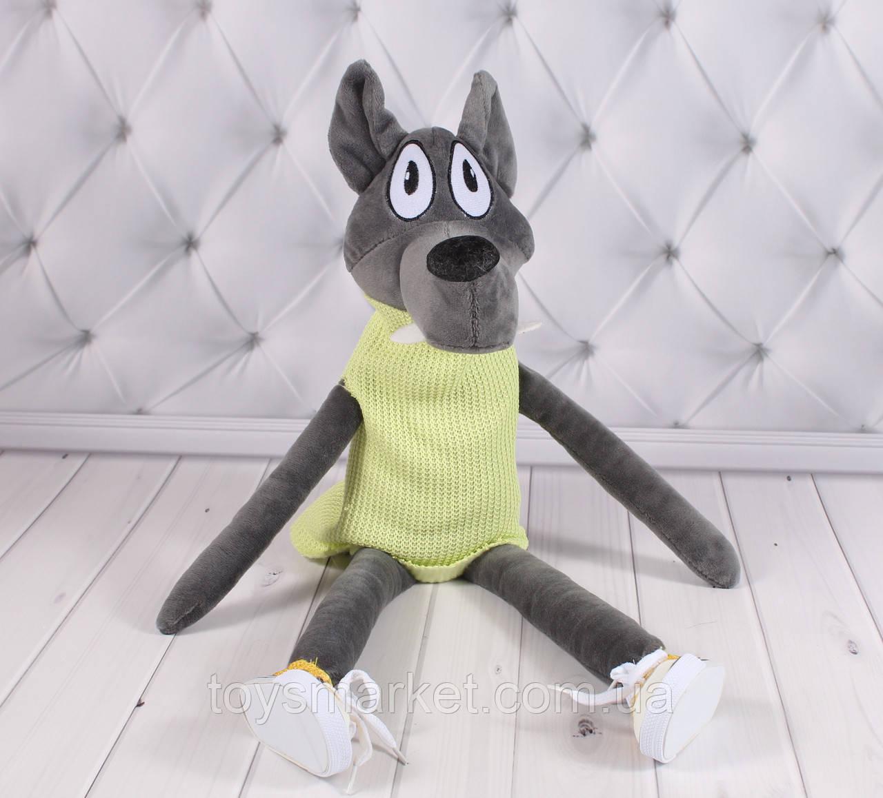"""Мягкая игрушка Волк """"Серый"""""""