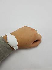 Универсальный силиконовый браслет для антисептика (БЕЛЫЙ), фото 3