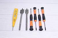 Шуруповерт аккумуляторный DeWALT DCD771 и набор инструментов в кейсе 01, фото 9