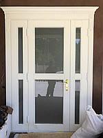 Двері Вхідні дерев'яна яні з Дерева Класика №10 masiv.ua