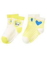 Детские носочки для девочки (2 пары) 12-24 месяца