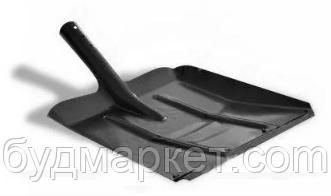 Лопата металлическая для снега широкая