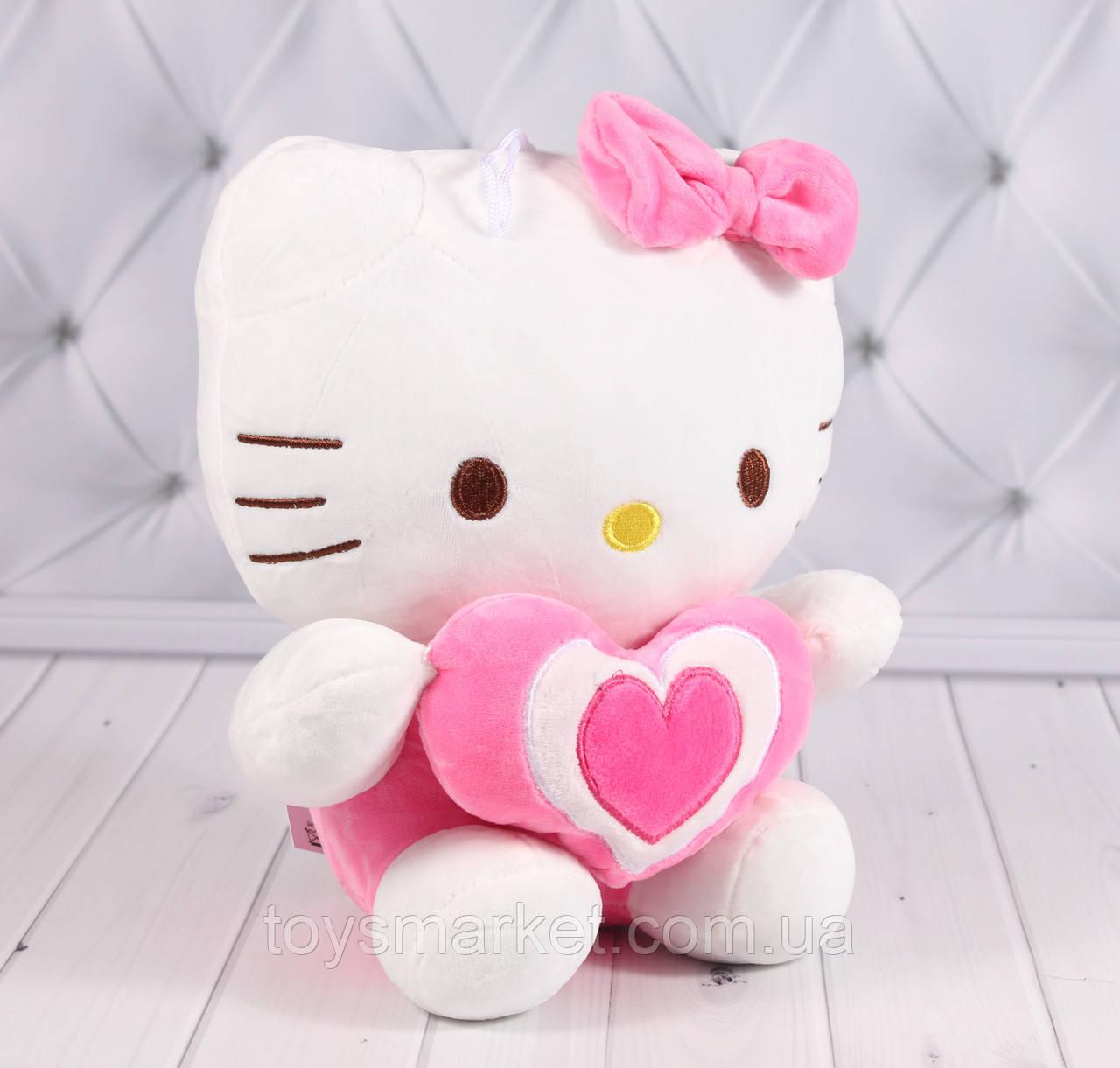 """М'яка іграшка котик Кітті, """"Хелло Кітті"""", """"Hello Kitty"""", плюшева іграшка кішка"""
