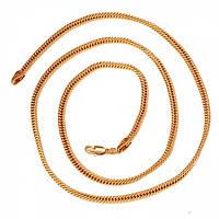 Цепочка с золотым покрытием 55 см