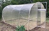 Теплиця «Веган» 4×10 з квадратної оцинкованої труби з плівкою 150 мкм, фото 7