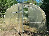 Теплиця «Веган» 4×10 з квадратної оцинкованої труби з плівкою 150 мкм, фото 8