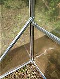 Теплиця «Веган» 4×10 з квадратної оцинкованої труби з плівкою 150 мкм, фото 9