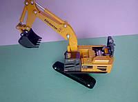Игрушка Гусеничный экскаватор металлопластик, фото 1