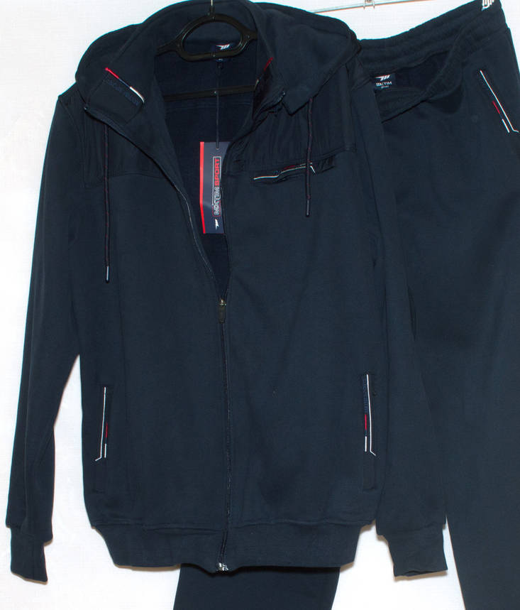 Спортивна чоловіча кофта тепла Mxtim 2001 (5XL), фото 2