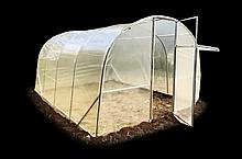 Теплица «Веган» 3×4 из оцинкованной квадратной трубы с пленкой 120 мкм