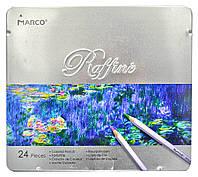 Олівці кольорові MARCO Raffine 24 кольори 7100-24TN