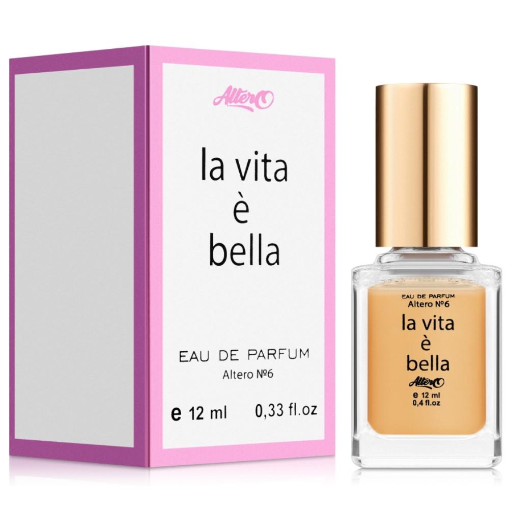 """Парфюмированная вода для женщин Altero № 6 """"La vita è bella"""" 12 мл (4820107594365)"""