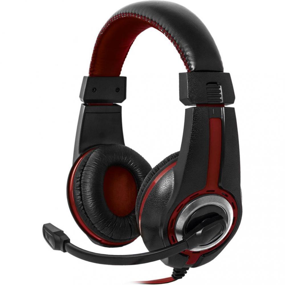 Наушники Defender Warhead G-185 Black-Red (64106)