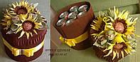 Подарок для любителей пива на 7 банок, цвет коричневый