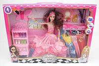 Кукла с аксессуарами и мебелью, 30 см