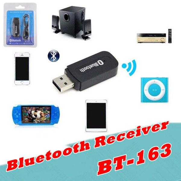 Аудіо ресивер приймач Bluethooth musik receiver, USB Bluetooth Music Receiver BT-163 музичний приймач
