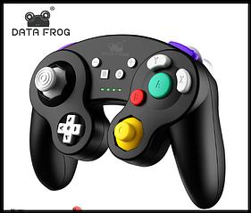 Бездротовий контролер PowerA в стилі для Nintendo GameCube Switch - чорний