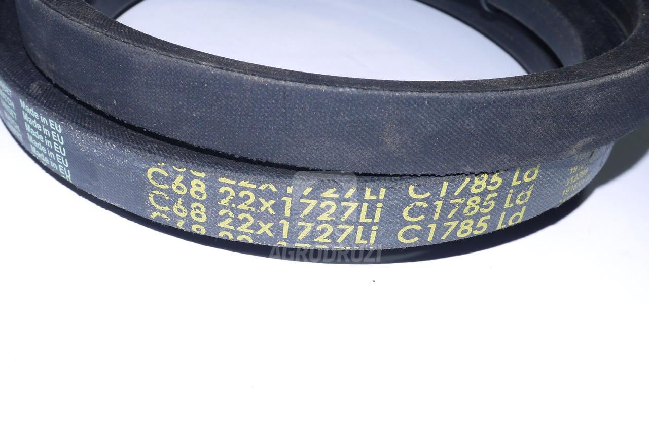 Ремінь 22x1820La C68 Gates Delta CLASSIC CLAAS 615109
