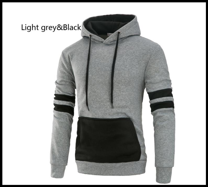 Толстовка , реглан, куртка з капюшоном розмір L ВСКА Код 61 сіро-чорна