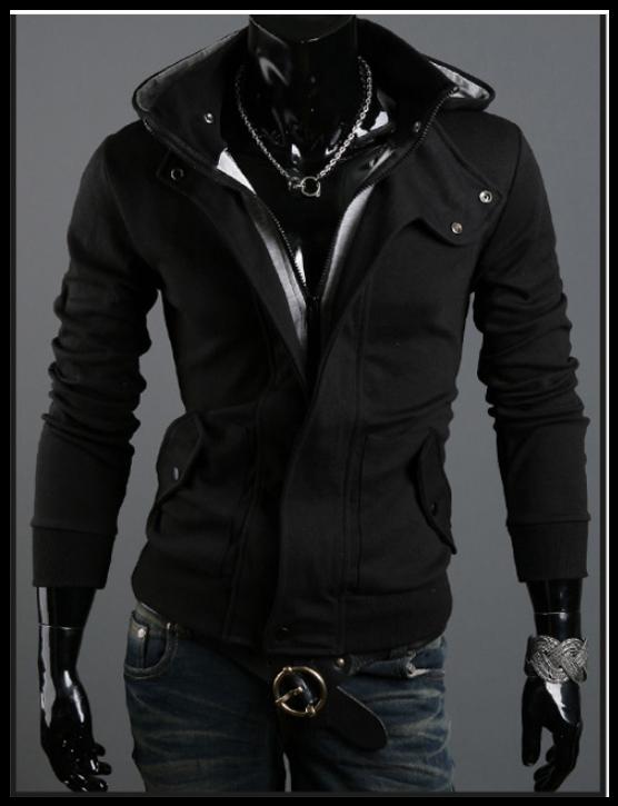 Толстовка , реглан, куртка M, L чорний код 48