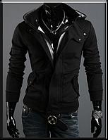Толстовка , реглан, куртка M, L чорний код 48, фото 1