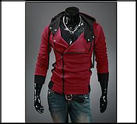 Толстовка , реглан, куртка M-4XL код 9 червона, фото 1