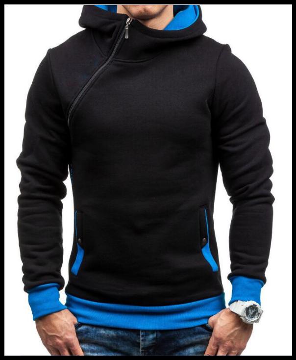 Толстовка , реглан, куртка с капюшоном размер L, XL   Код 64 чёрная