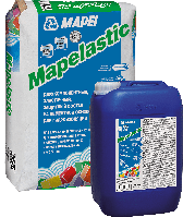 MAPELASTIC - Двухкомпонентный эластичный цементно-полимерный состав гидроизоляции MAPEI