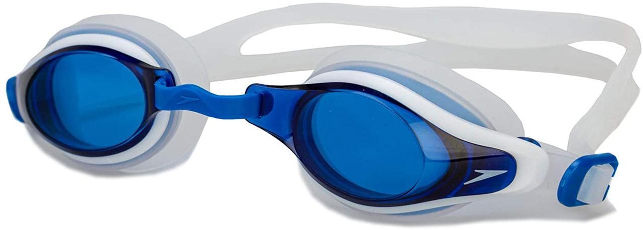 Очки для плавания Speedo Mariner Supreme Blue/white. Оригинал.