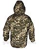 Куртка Soft-shell зимняя Светлый пиксель, фото 2