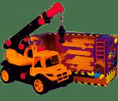 Автомобильный кран (оранжевый) «ТехноК» (3695)