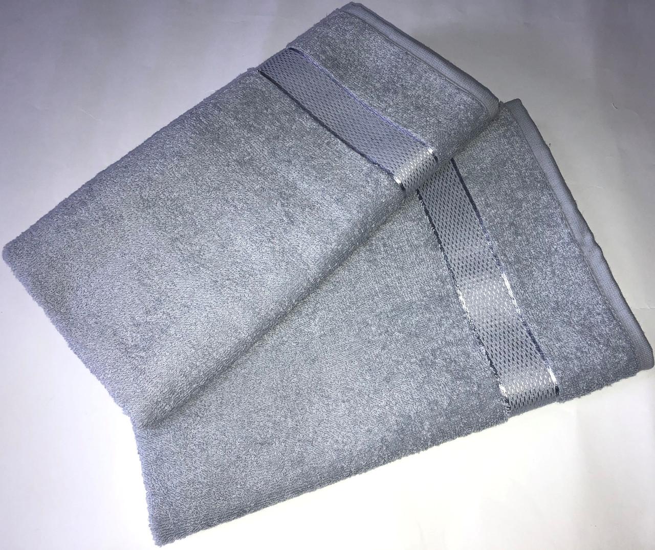 Рушник махровий 100*150 БУЗКОВИЙ
