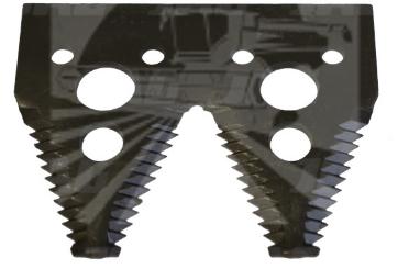 Сегмент подвійний жатки John Deere H163131