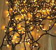Новогодняя светодиодная гирлянда на елку (LED300 WW-2 теплый белый свет 270 LED 15.5 м.)  5029 (GK), фото 3